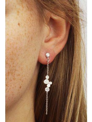 Zilveren ONNO oorsteker | OS0376RH | thumbnail image