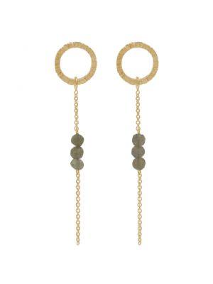 18 Kt vergulde zilveren ONNO oorsteker | OS0395LPL | small image