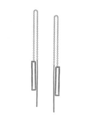 Zilveren ONNO oorsteker met rhodium | OS0404RH | small image