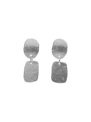 Zilveren ONNO oorsteker met rhodium | OS0416RH | small image