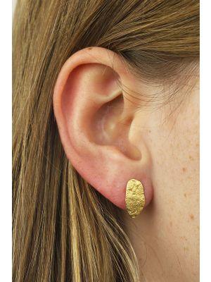 18 Kt vergulde zilveren ONNO oorsteker | OS0421PL | small image