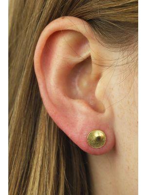 18 Kt vergulde zilveren ONNO oorsteker | OS0426PL | small image