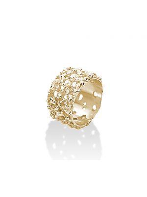 18 Kt vergulde zilveren ONNO ring | R0041PL | thumbnail image