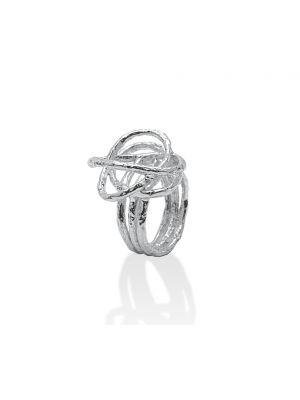 Zilveren ONNO ring | R0101 | thumbnail image