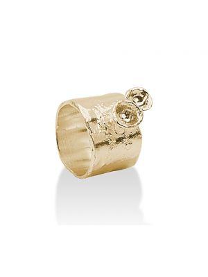 18 Kt vergulde zilveren ONNO ring | R0112PL | thumbnail image