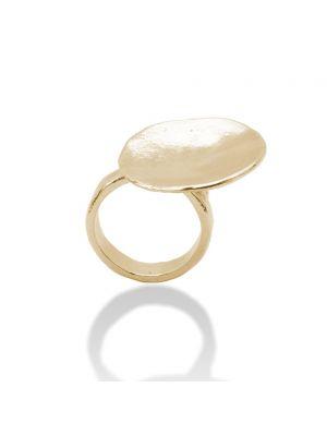 18 Kt vergulde zilveren ONNO ring | R0119PL | thumbnail image