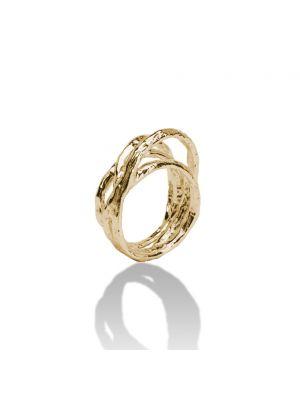 18 Kt vergulde zilveren ONNO ring | R0125PL | thumbnail image