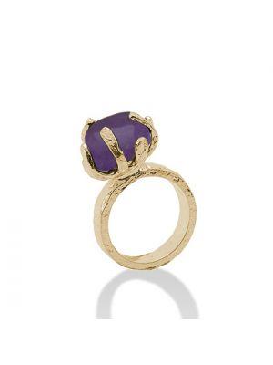 18 Kt vergulde zilveren ONNO ring | R0152APL | thumbnail image