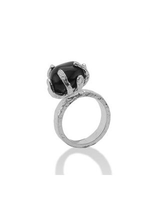 Zilveren ONNO ring | R0152BRH | thumbnail image