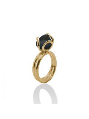 18 Kt vergulde zilveren ONNO ring | R0158BPL | thumbnail image