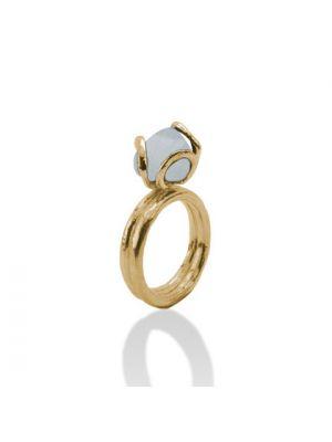 18 Kt vergulde zilveren ONNO ring | R0158CPL | thumbnail image