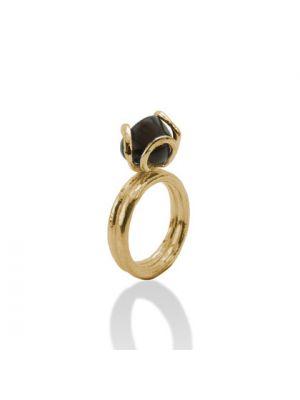 18 Kt vergulde zilveren ONNO ring | R0158SPL | thumbnail image