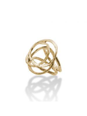 18 Kt vergulde zilveren ONNO ring | R0180PL | thumbnail image