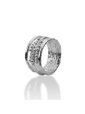 Zilveren ONNO ring | R0190RH | thumbnail image