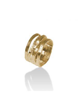 18 Kt vergulde zilveren ONNO ring | R0264PL | thumbnail image