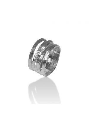 Zilveren ONNO ring | R0264RH | thumbnail image