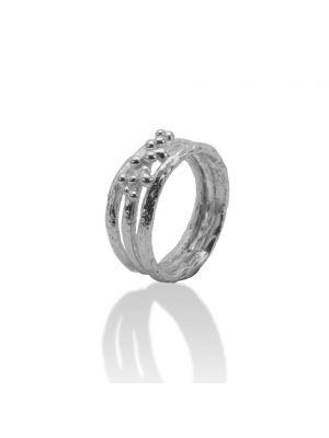 Zilveren ONNO ring | R0293 | thumbnail image