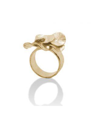 18 Kt vergulde zilveren ONNO ring | R0315PL | thumbnail image