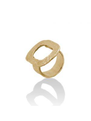 18 Kt vergulde zilveren ONNO ring | R0322PL | thumbnail image