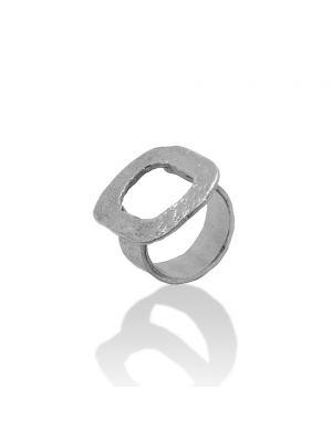 Zilveren ONNO ring | R0322RH | thumbnail image