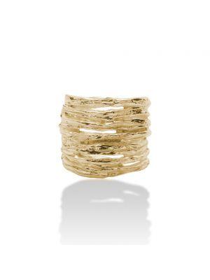 18 Kt vergulde zilveren ONNO ring | R0333PL | thumbnail image