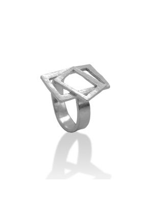Zilveren ONNO ring | R0334 | thumbnail image