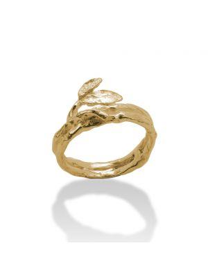 18 Kt vergulde zilveren ONNO ring | R0336PL | thumbnail image