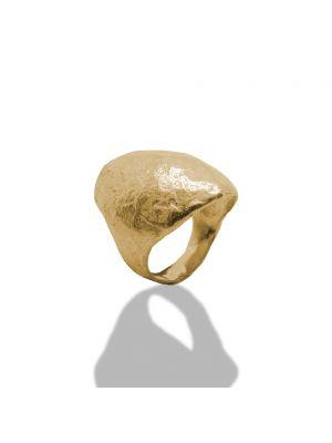 18 Kt vergulde zilveren ONNO ring | R0344PL | small image